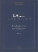 Bach, J.S. : Cantata BWV 172, Erschallet, ihr Lieder. Partitura tascabile. Urtext