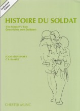 Stravinsky, I. : Histoire du Soldat, partitura tascabile
