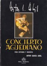 García Abril, A. : Concierto aguediano per Chitarra e Orchestra. Partitura tascabile