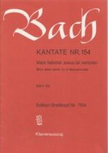 Bach, J.S. : Cantata BWV 154, Mein liebster Jesus ist verloren, per Canto e Pianoforte