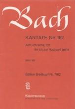 Bach, J.S. : Cantata BWV 162, Ach, ich sehe, itzt, da ich Hochzeit gehe, per Canto e Pianoforte