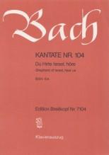 Bach, J.S. : Cantata BWV 104, Du Hirte Israel, höre, per Canto e Pianoforte