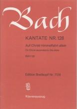 Bach, J.S. : Cantata BWV 128, Auf Christi Himmelfahrt allein, per Canto e Pianoforte