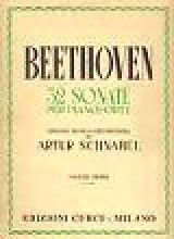 Beethoven, L. van : 32 Sonate per Pianoforte. Volume 1