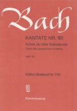 Bach, J.S. : Cantata BWV 161, Komm, du süße Todesstunde, per Canto e Pianoforte