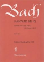 Bach, J.S. : Cantata BWV 101, Nimm von uns, Herr, du treuer Gott, per Canto e Pianoforte