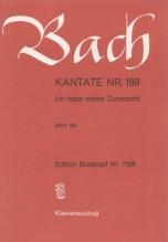 Bach, J.S. : Cantata BWV 188, Ich habe meine Zuversicht, per Canto e Pianoforte