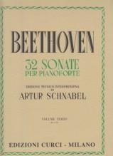 Beethoven, Ludwig van : 32 Sonate per Pianoforte. Volume 3