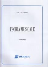 Petrucci, L. : Teoria musicale. Parte 1