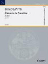 Hindemith, Paul : Sonatine canoniche per 2 Flauti