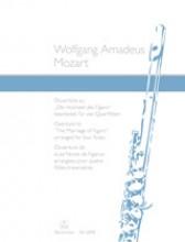 Mozart, Wolfgang Amadeus : Sinfonia dalle Nozze di Figaro, arrangiamento per 4 Flauti traversi
