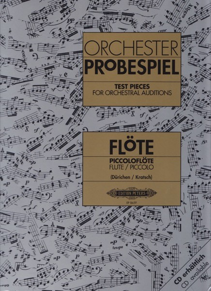 AA.VV. : Test Pieces for Orchestral Auditions: Flauto traverso (e Ottavino)