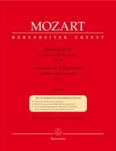 Mozart, W.A. : Concerto per corno nr. 2 KV 417, riduzione per Corno e Pianoforte. Urtext