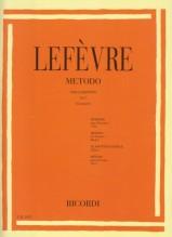 Lefèvre, J.X. : Metodo per Clarinetto, vol. 1
