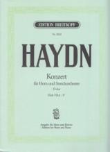 Haydn, Franz Josef : Concerto Hob VIId:4* in re, per Corno e Pianoforte