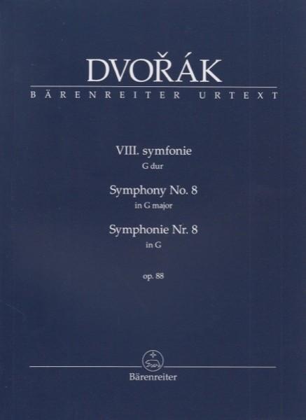 Dvorak, A. : Sinfonia n. 8. Partitura tascabile. Urtext