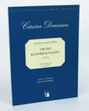 Neefe, Ch. G. : Zwölf Klavier-Sonaten, 1773. Facsimile