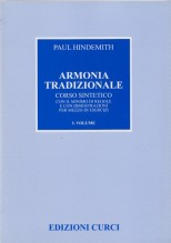 Hindemith, Paul : Armonia tradizionale, vol. I: Corso sintetico con il minimo di regole e con dimostrazioni per mezzo di esercizi