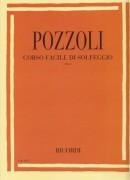Pozzoli, E. : Corso facile di solfeggio. Parte 1