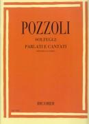 Pozzoli, E. : Solfeggi parlati e cantati. Appendice al I Corso