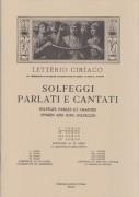 Ciriaco, L. : Solfeggi parlati e cantati. 1° Corso, Parte 1