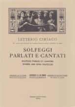 Ciriaco, L. : Solfeggi parlati e cantati. 3° Corso - Appendice
