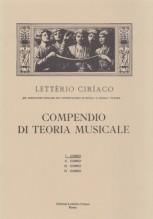 Ciriaco, L. : Compendio di teoria musicale. 1° Corso