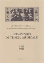 Ciriaco, L. : Compendio di teoria musicale. 3° Corso