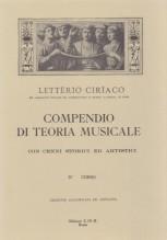 Ciriaco, L. : Compendio di teoria musicale. 4° Corso