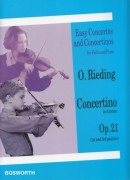 Rieding, Oskar : Concertino in la minore op. 21,  per Violino e Pianoforte