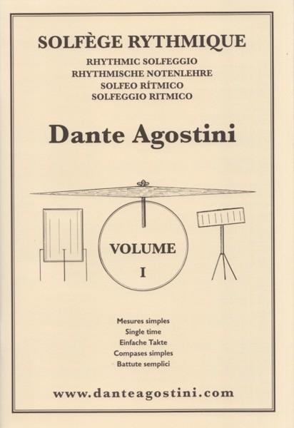 Agostini, D. : Solfeggio ritmico, vol. I: battute semplici