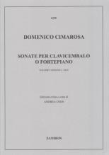 Cimarosa, D. : Sonate per Clavicembalo o Fortepiano, vol. I: I-XLIV