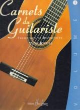 Rivoal, Yvon : Carnets du Guitariste, vol. 1