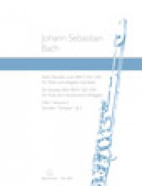 Bach, J.S. : 6 Sonate per Flauto e Cembalo obbligato, vol. 1:  BWV 525, 526
