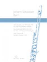 Bach, J.S. : 6 Sonate per Flauto e Cembalo obbligato, vol. 3:  BWV 529, 530