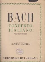 Bach, Johann Sebastian : Concerto italiano, per Pianoforte