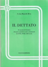 Bianchi Riva, L. : Il dettato