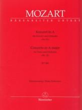 Mozart, Wolfgang Amadeus : Concerto KV 488 per Pianoforte e Orchestra, riduzione per 2 Pianoforti. Urtext
