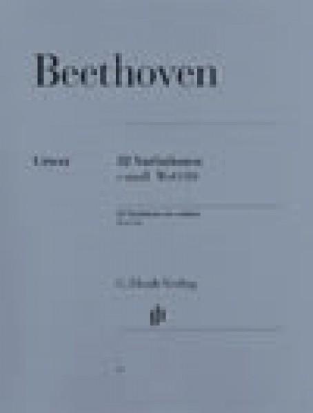 Beethoven, L. van : 32 Variazioni in do minore, per Pianoforte. Urtext