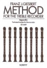 Giesbert, F.J. : Method for the Treble (Alto) Recorder. Appendix: Technical Studies for the Recorder
