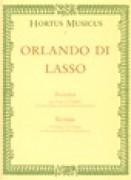 Lasso, Orlando di : Bicinia, per cantare e suonare con Flauti dolci o altri strumenti