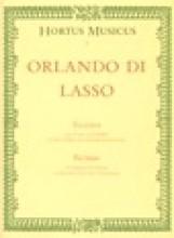 Lasso, O. de : Bicinia, per cantare e suonare con Flauti dolci o altri strumenti