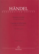 Händel, G.F. : Concerto per Organo e Orchestra in Sib HWV 290, op. 4/2. Partitura