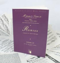 Rameau, J. P. : Metodi e Trattati: vol. III. Facsimile