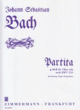 Bach, Johann Sebastian : Partita in sol minore BWV 1013, per Oboe solo