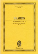 Brahms, J. : Sinfonia n. 2 in re op. 73. Partitura tascabile