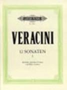 Veracini, Francesco Maria : 12 Sonate per Flauto dolce (Flauto traverso, Violino) e Basso continuo, vol. I: I - III