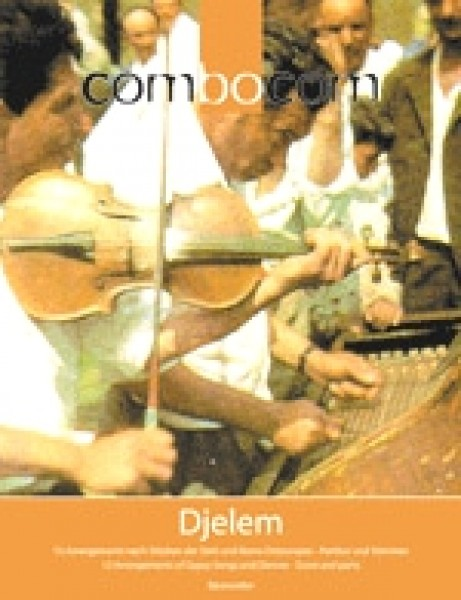 AA.VV. : Combocom: Djelem. 11 Arrangements of Gypsy Songs and Dances