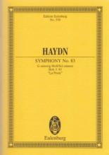 Haydn, J. : Sinfonia nr. 83. Partitura tascabile