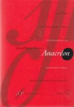 Rameau, J. P. : Anacréon. Ballet héroïque en un acte